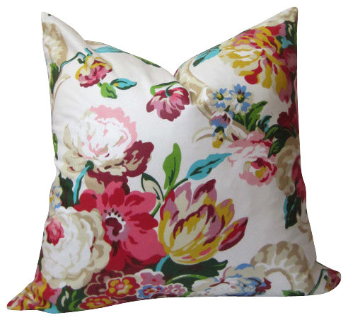Floral Pillow Cover modern