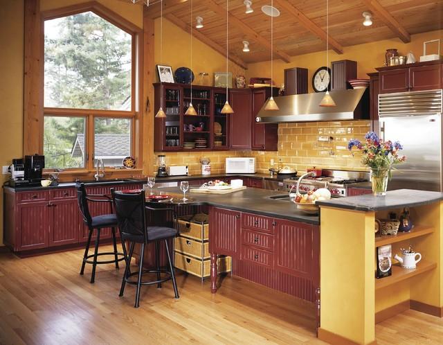 Chef Kitchen Tom Diana Dillard Transitional