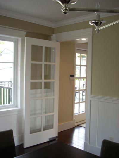 Dining Room Waiter Pivot Door Traditional Interior Doors Vancouver By Doorex