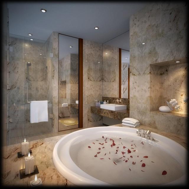 Bathroom Modern And Elegant Sentul Jakarta Contemporary