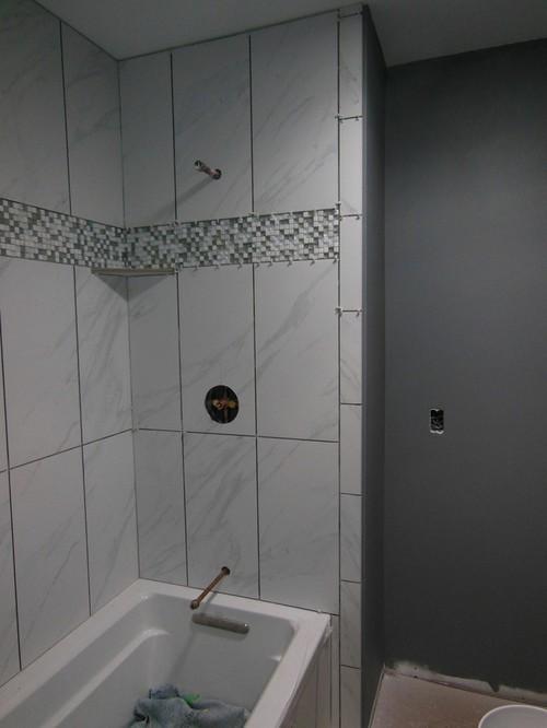 Porcelain Carrara Marble Look Alike Tile
