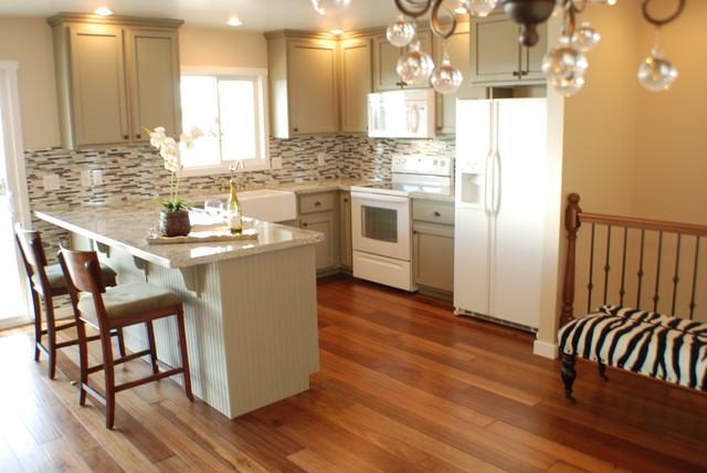 Condo Kitchen Remodel Traditional