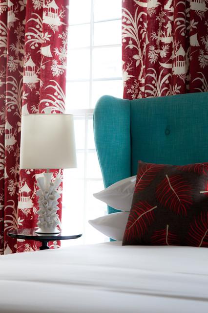Chapman House eclectic bedroom