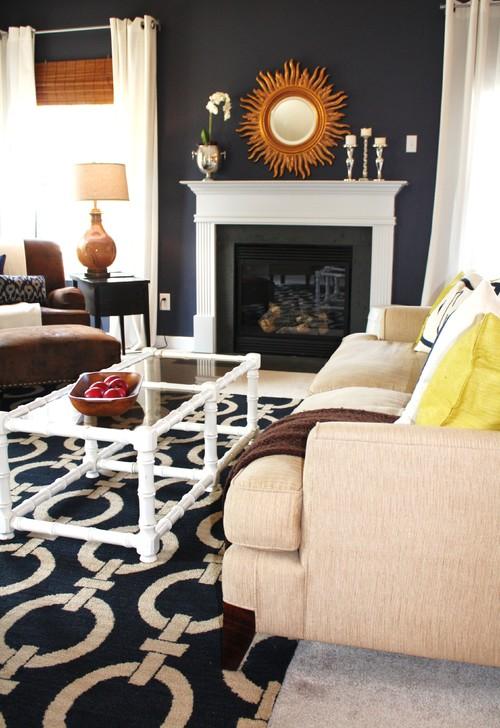 Amazing Best 20 Navy Blue And Grey Living Room Ideas On Pinterest Regarding Ordinary