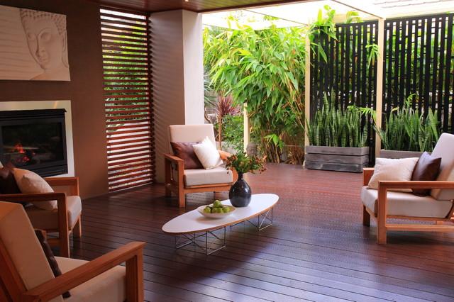Bali Style Retreat asian-deck