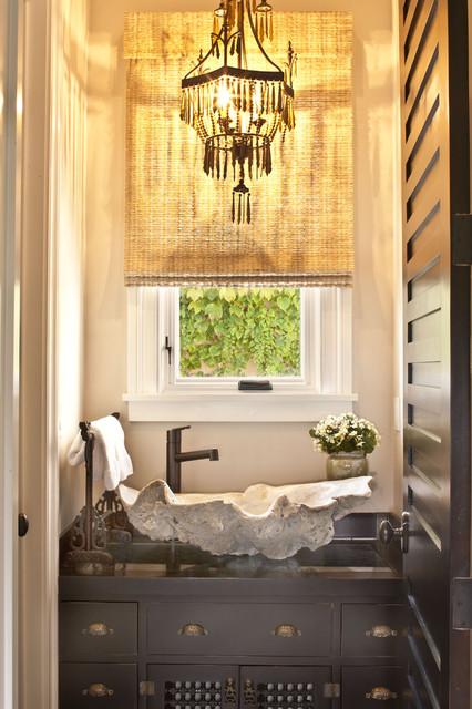 Pool House Bathroom eclectic bathroom