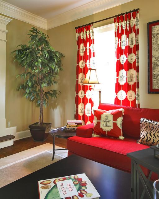 Global Chic asian living room