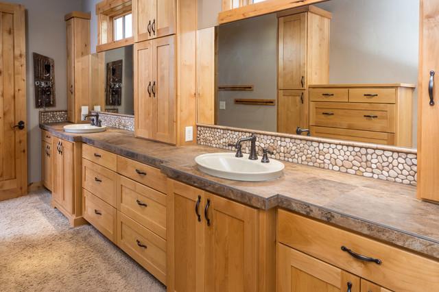 Brasada Ranch Home Master Bath Suite Full View