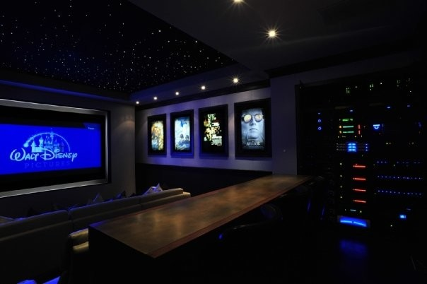 Home Movie Theater Decor