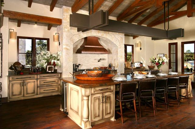Spanish Style Kitchen Home Decor Interior