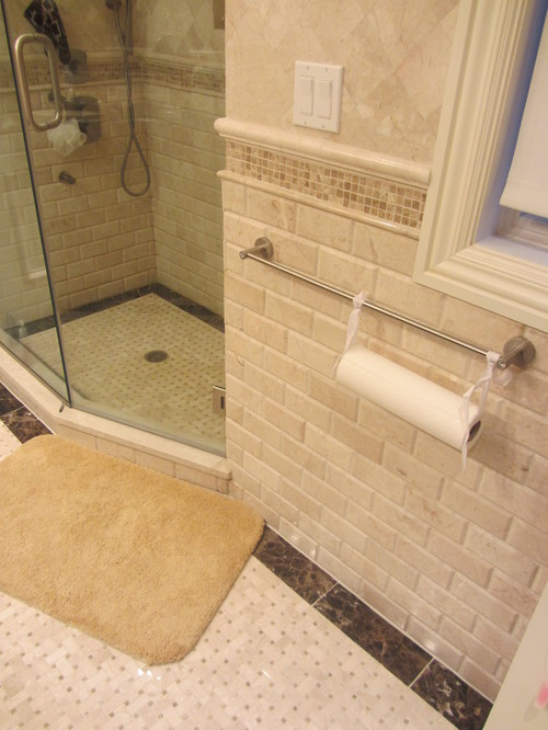 Love The Subway Tile Is It Travertine Or Porcelain Thanks