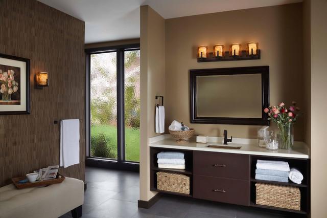 Bathroom Light Fixtures In Bronze bronze bathroom lighting – laptoptablets