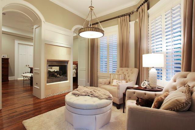 Memorial Hamptons Style Traditional Bedroom Houston