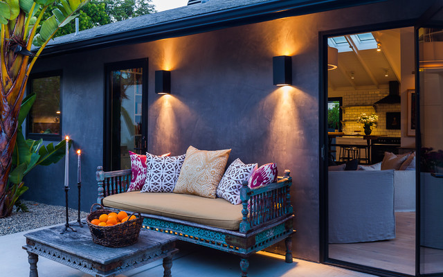 eclectic exterior by Lori Smyth Design