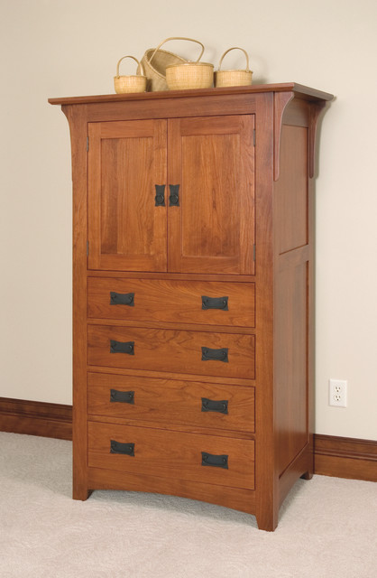 Mission Style Tv Armoire