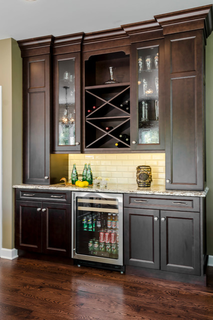Kitchen Dry Bar Traditional Kitchen Chicago By