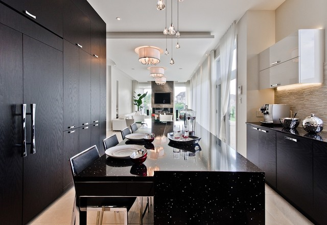 Contemporary Kitchen Hanging Lights