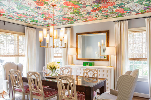 Traditional Dining Room By Houston Interior Designers Decorators Laura U Inc
