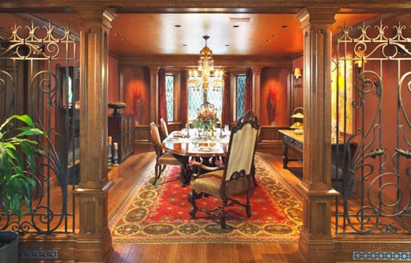 Larchmont Tudor Traditional Dining Room New York