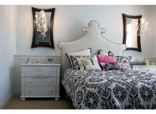 Headboard Shape Guide on Remodelaholic.om