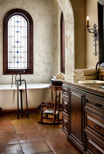 Lake Conroe Spanish Victorian Bathroom Austin By JAUREGUI Architecture Interiors