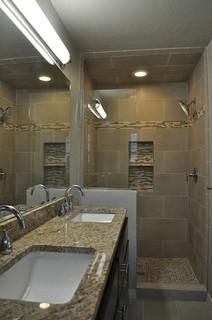 Long Narrow Bathroom An Ideabook By Kgwalker