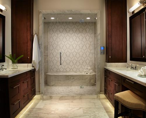 Tropical Bathroom By Atlanta Interior Designers U0026 Decorators Pineapple  House Interior Design Via Houzz