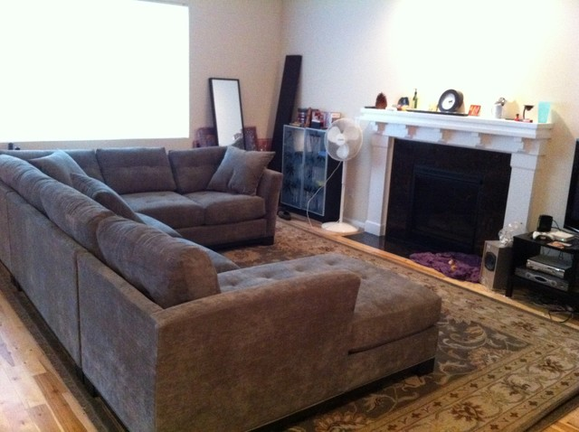 Washed Out To Knockout See A Smart Living Room Makeover