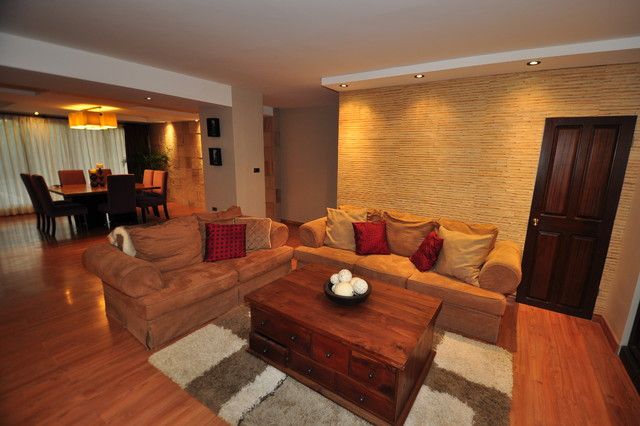 Modern tropical living room - Asian - Living Room - other ...