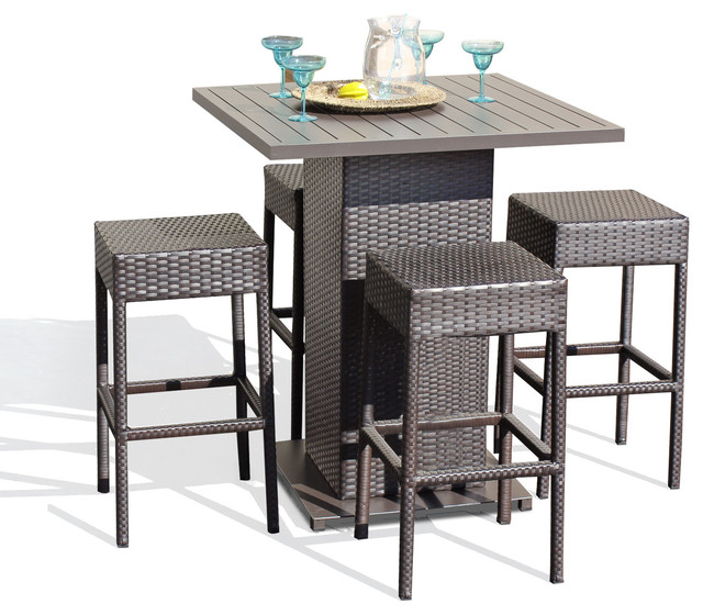 Patio Furniture Pub Table Sets