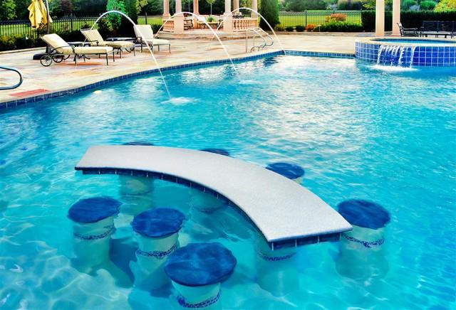 Northbrook IL inground swimming pool  pool