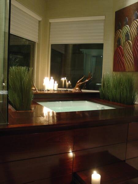 A Japanese Bath House Asian Bathroom Dallas By