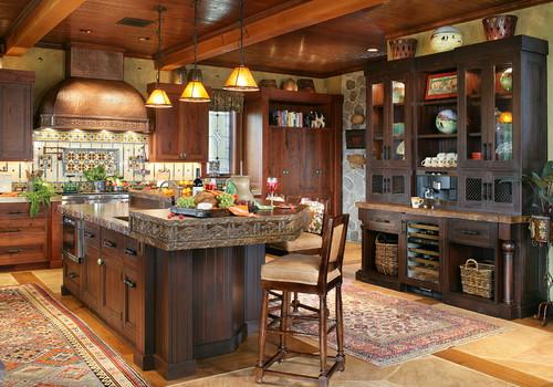 Rustic Kitchen By Wyckoff Kitchen U0026 Bath Designers Peter Salerno Inc