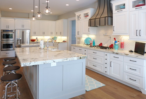 White Kitchen Countertop Options