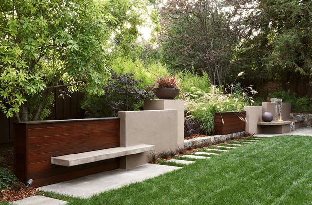 paisagem contemporânea por Arterra LLP Landscape Architects