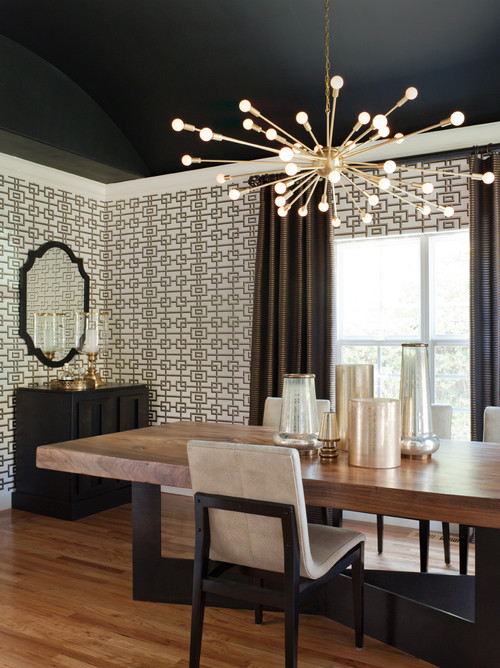 Here Are A Few Fun/chic/stylish Transitional Dining Rooms I Selected From  Various Designers Around The Country. Which Is Your Favorite?