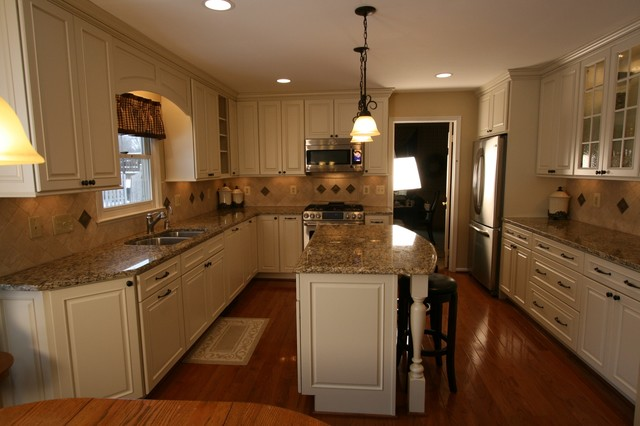 Timeless White Kitchen Update Traditional Kitchen Dc
