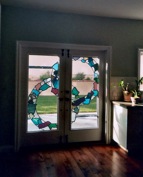 Modern Contemporary Stained Glass Windows Doors