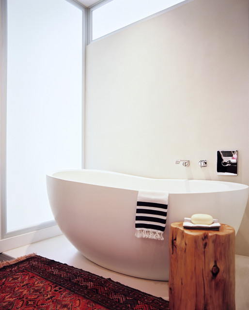 Flatiron Apartment contemporary-bathroom