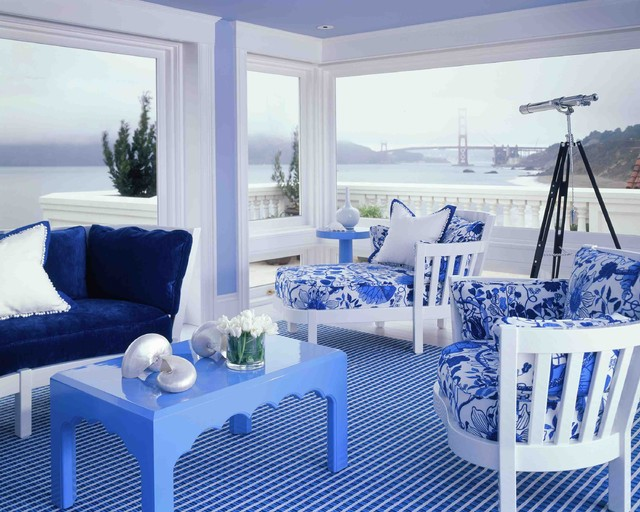 Seacliff Southern modern living room