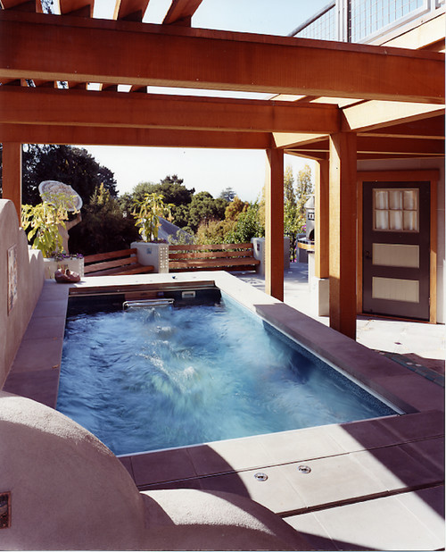 Endless Pool by Jetton Construction via Houzz.com