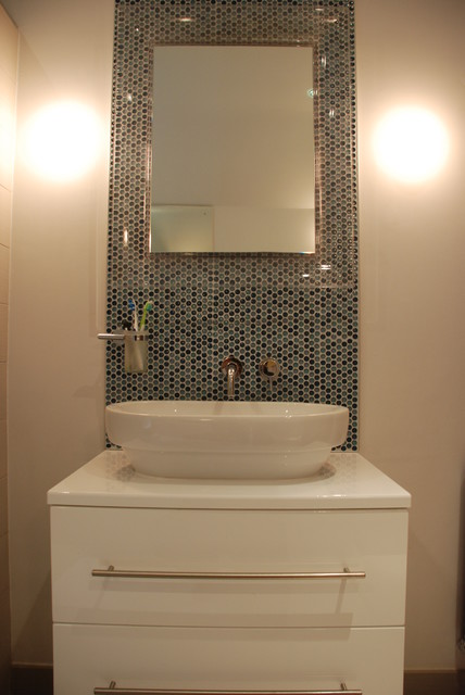 Family Bathroom With Modern Clean Lines
