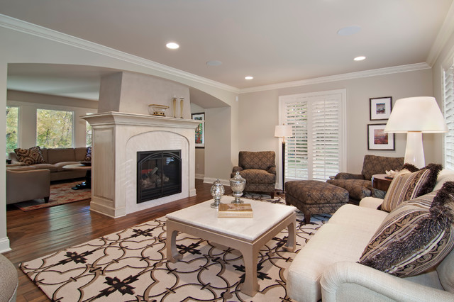 Entertainment Centers And Fireplaces Traditional