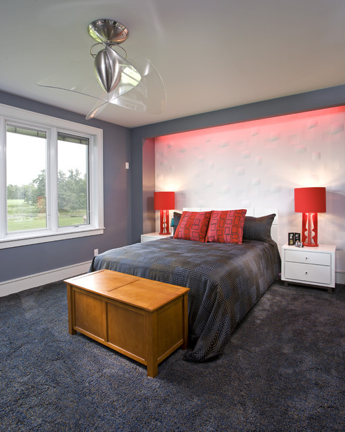 Blue Room Red And Ideas Inspiration 10