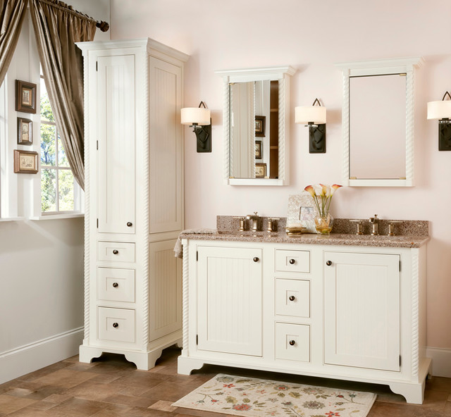 Traditional Bathroom Vanities And Cabinets With Wonderful Picture In     New Traditional Bathroom Vanities Cabinets Are Practically Made From The