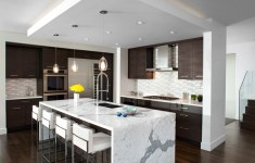 Unbelievable Waterfall Kitchen Islands That Are Hit In The World