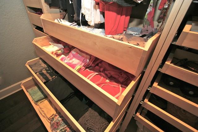 Robeson Design Teen Closet Storage Ideas Using IKEA