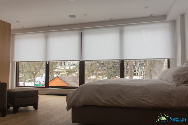 Bedroom Window Blinds Remote Operated