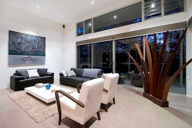Modern Living Room Modern Living Room Sydney By
