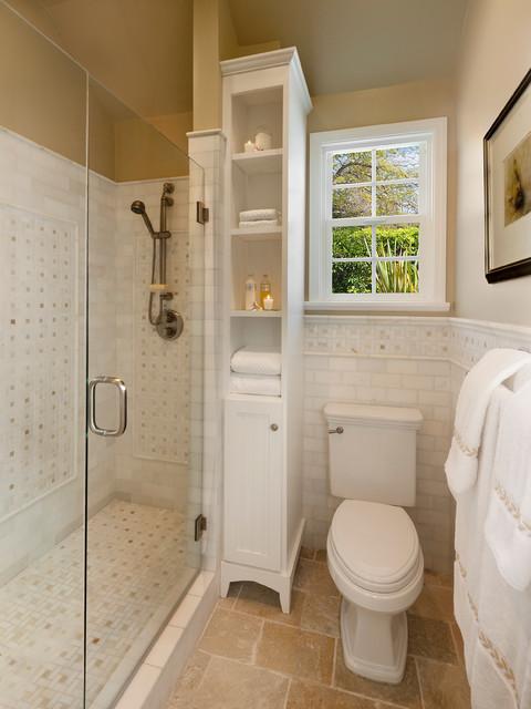 Space Saving Traditional Bathroom Traditional Bathroom